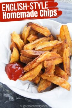 Homemade Chip-style Fries