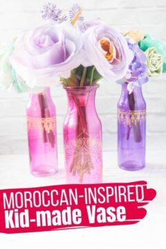 Aladdin-inspired Vase Craft for Kids