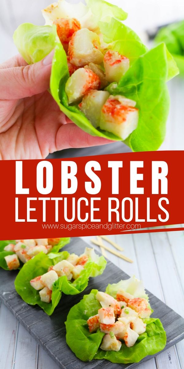 How to make Lobster Roll Lettuce Wraps - the perfect summer seafood recipe, lightened up to avoid bloat and excessive carbs. Just pure flavor without the filler