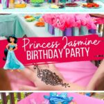 Princess Jasmine & Aladdin Birthday Party