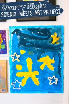 Starry Night STEAM Art Project for Kids