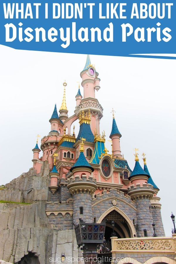 An honest family review of Disneyland Paris, including what you need to know to plan a trip of your own. Find out what I didn't like about Disneyland Paris