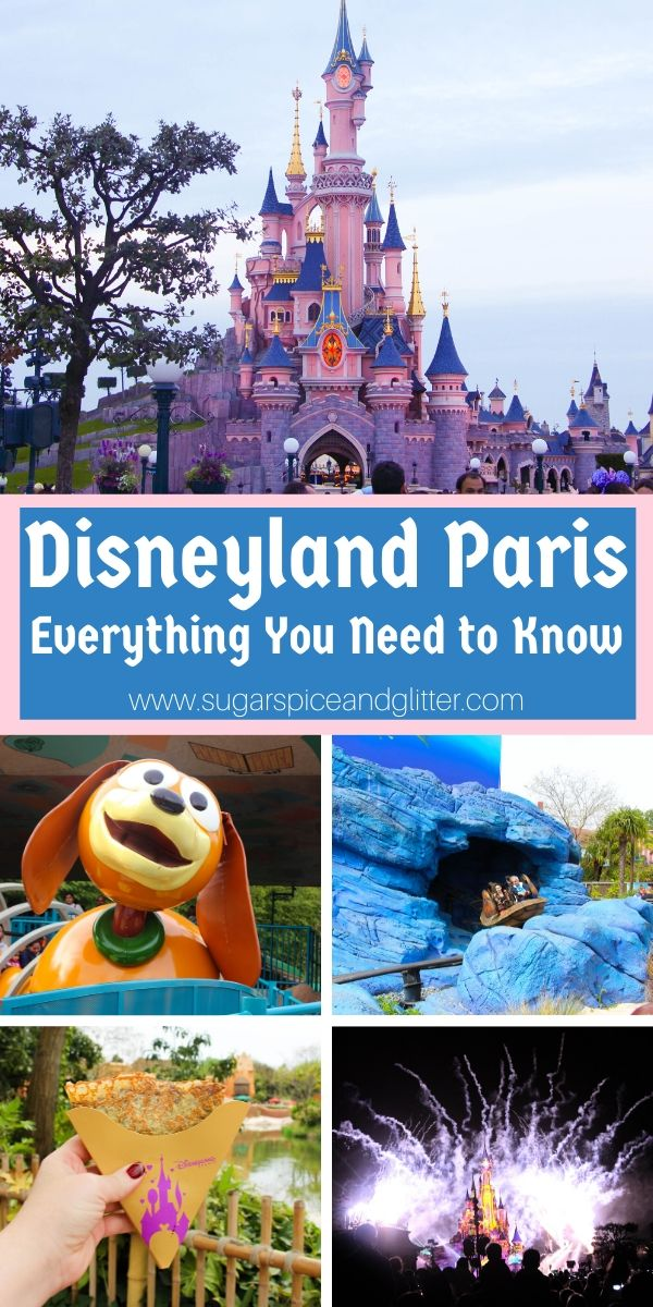 Disneyland Paris is nothing like it's US counterparts! Here is everything you need to know to plan your family's Disneyland Paris vacation - including what you might not like!