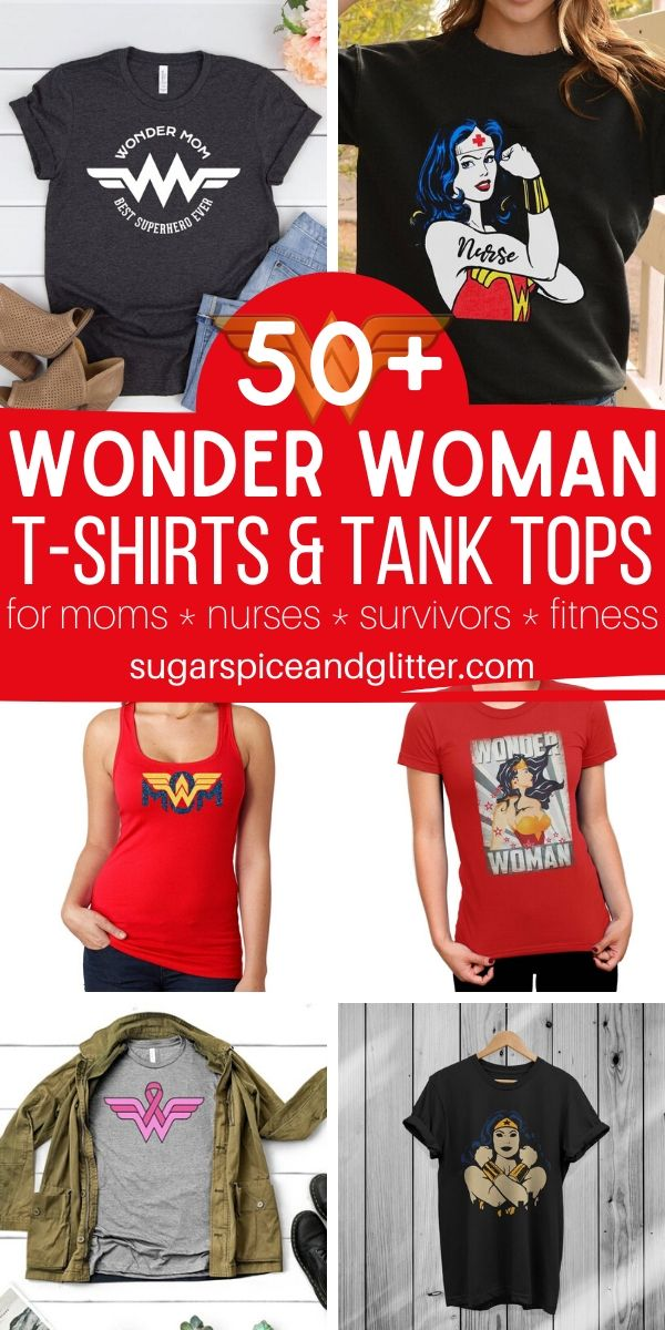 Whether you're shopping for a Wonder mom, nurse, breast cancer survivor, Christian, firefighter, etc, you'll find the perfect option for your Wonder Woman with over 50 options from independent Etsy sellers