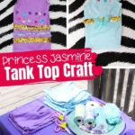 Kid-made Jasmine Tank Party Craft