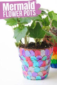 Mermaid Flower Pot
