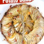 Crispy Hasselback Potato Bake