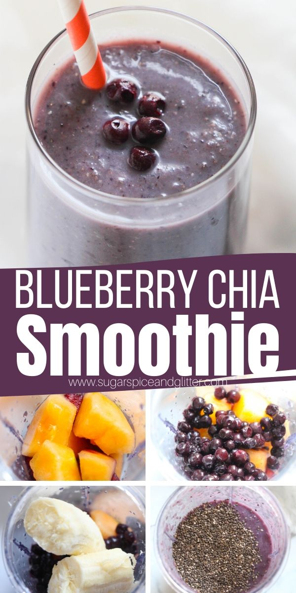 How to make a wild blueberry chia seed smoothie the whole family will love. This nutrient-packed smoothie is a great way to satisfy your sweet tooth while sticking to your healthy eating goals.