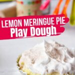 Lemon Meringue Play Dough