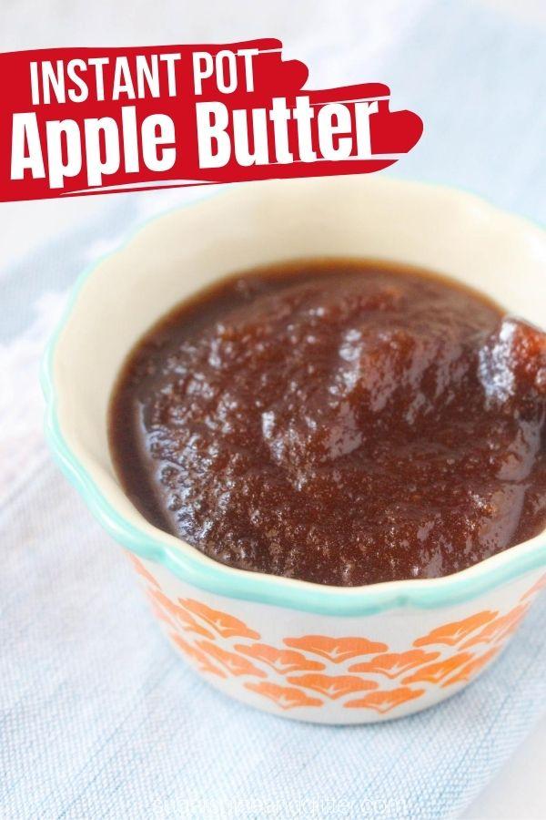 Instant Pot Apple Butter