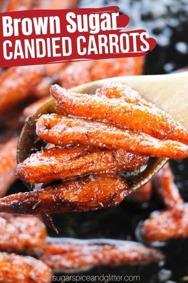 Brown Sugar and Thyme Candied Carrots