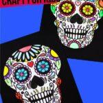 Printable Sugar Skull Coloring Page