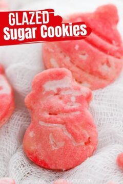 Glazed Sugar Cookies (with Video)