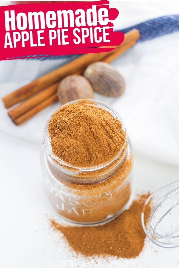 How to make homemade Apple Pie Spice - the perfect addition to all of your fall baking! Customize your blend to have the perfect flavor profile for you - and skip the overpriced tiny jars at the store.