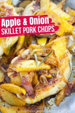 Skillet Pork Chops with Apples and Onions (with Video)