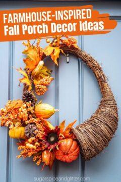 Farmhouse Fall Decor Ideas for Your Porch