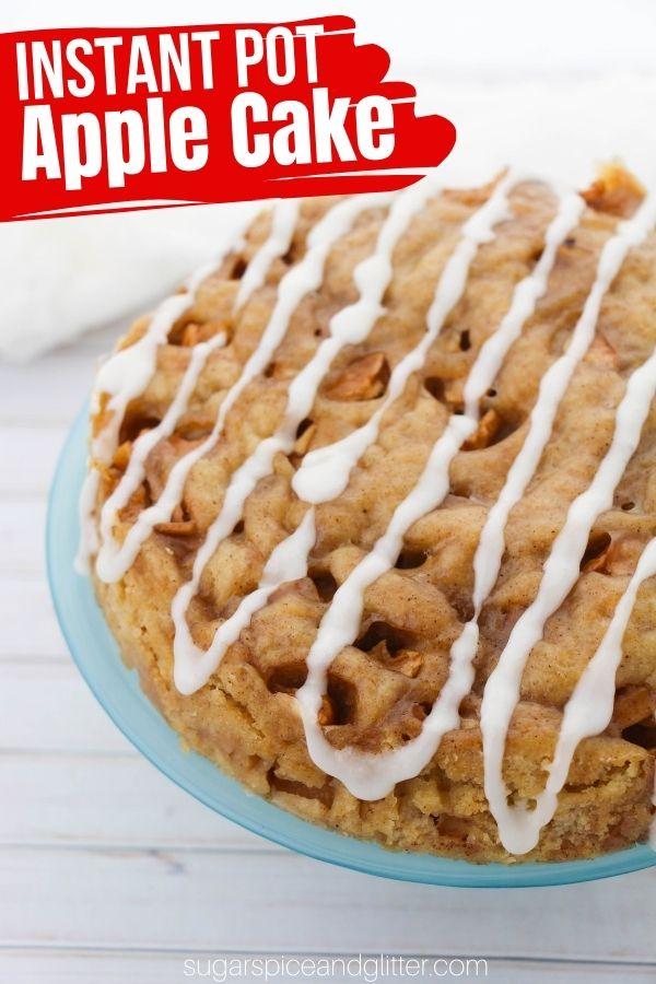Instant Pot Apple Cake