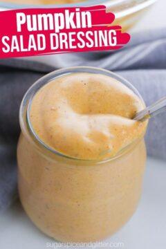 Pumpkin Salad Dressing