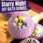 Starry Night Bath Bombs