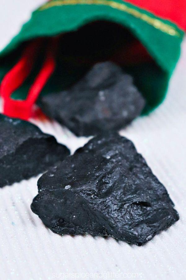 Lump of Coal Soap