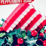Layered Peppermint Soap Bar (with Video)