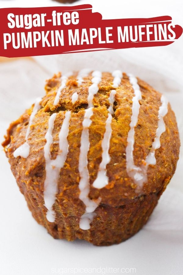 These Healthy Pumpkin Muffins are sweetened with maple syrup and cinnamon, for a delicious pumpkin treat you can feel good about indulging in. These pumpkin maple muffins are tender, flavorful and can be frozen, too!
