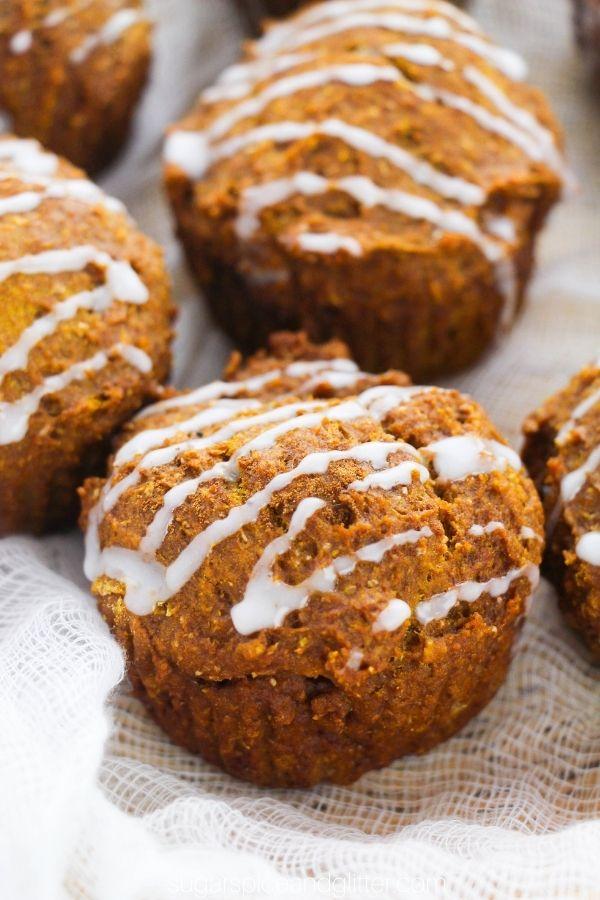 Sugar-free Maple Pumpkin Muffins