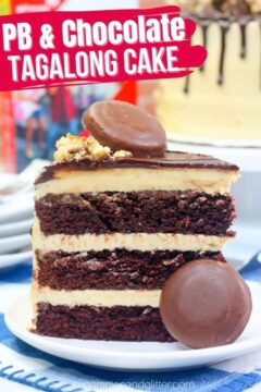 Girl Scout Tagalong Cake