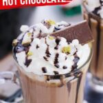 Crockpot Thin Mint Hot Chocolate (with Video)