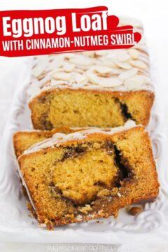 Eggnog Bread with Cinnamon Swirl