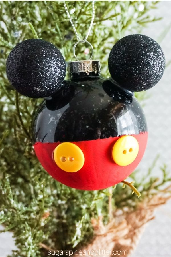 Mickey Mouse Ornaments