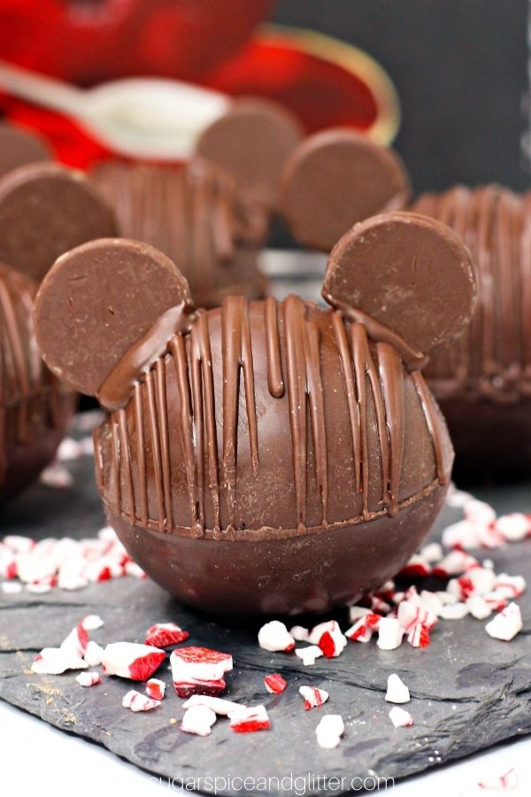 Mickey Mouse Hot Chocolate Bomb