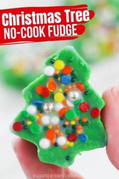 Christmas Tree Fudge