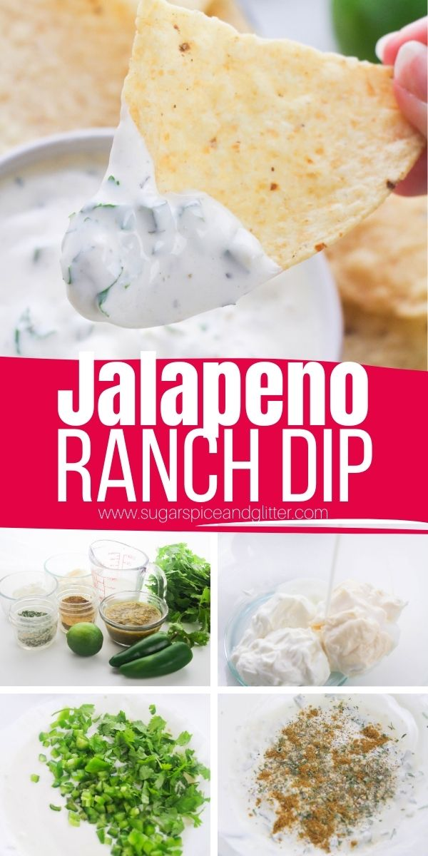 How to make Chuy's Jalapeno Ranch dip at home. Great for dipping chips or veggies, or spreading on burgers or sandwiches. This not-too-spicy dip is the perfect appetizer, ready in less than 10 minutes and utterly delicious