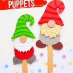 Paper Gnome Puppets