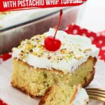Pistachio Pudding Cake (with Video)
