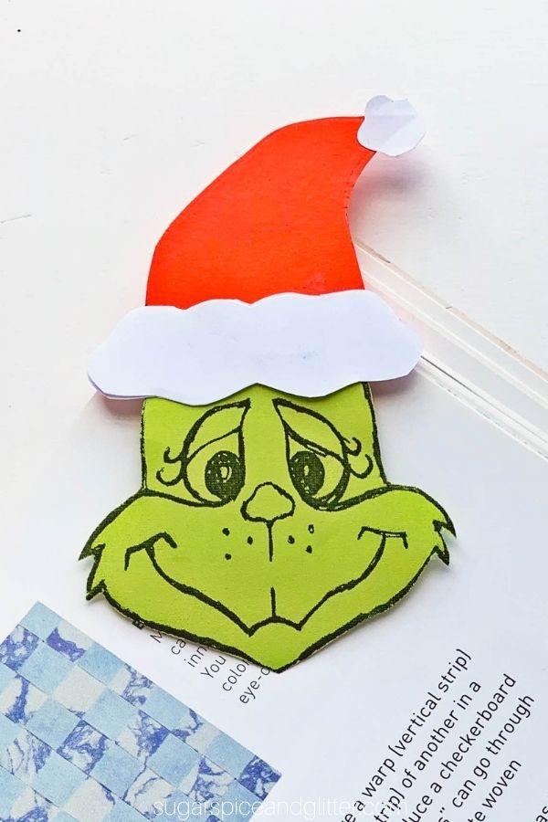 Printable Grinch Bookmark