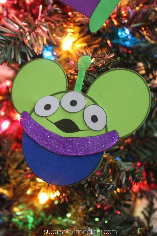 Toy Story Aliens Ornaments