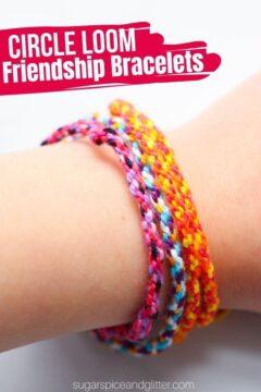 Circle Loom Friendship Bracelet (with Video)