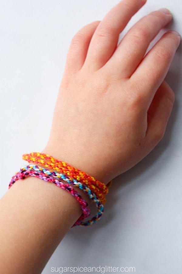 Circle Loom Friendship Bracelet