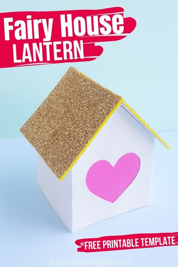 A fun fairy house craft for kids, these Fairy House Lanterns actually light up to create a warm, magical glow. You can customize your fairy house in so many different ways and even make a little village of glowing fairy houses.
