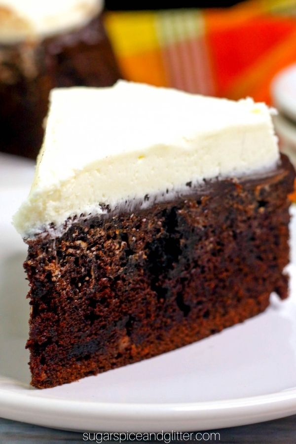 Instant Pot Guinness Cake with Bailey's Frosting