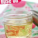 Homemade Rose Oil (with Video)