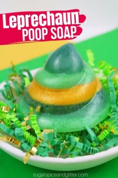Leprechaun Poop Soap (with Video)