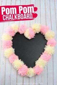 Pom Pom Chalkboard