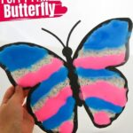 Puffy Paint Butterfly (with Video)