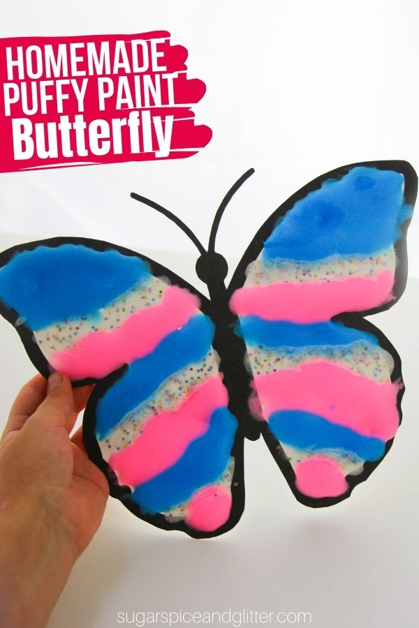 Puffy Paint Butterfly
