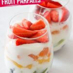 Rainbow Fruit Yogurt Parfaits (with Video)