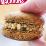Samoa Macarons with Caramel-Coconut Filling (with Video)