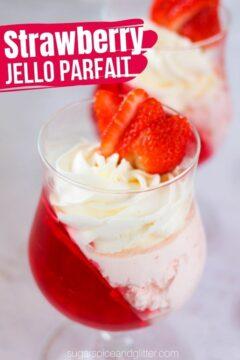 Strawberry Jello Parfait